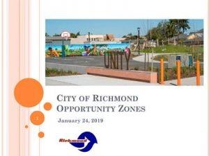 City of Richmond opportunity zone