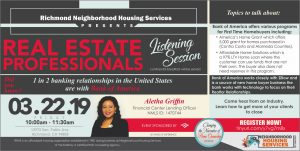 3.22 Real Estate Professionals Listening Session